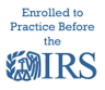 Enrolled to Practice IRS logo